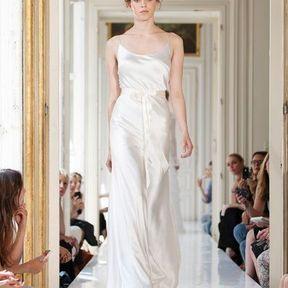 Robe de mariage soie 2013 © Delphine Manivet