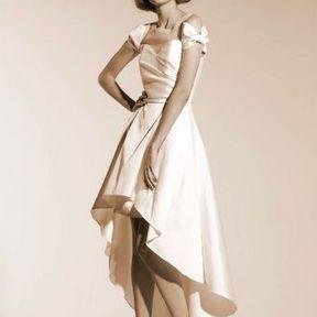 Robe de mariage soie Automne - Hiver 2015 @ Suzanne Ermann