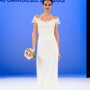 Robe de mariages 2013 en dentelle © Le Salon du mariage