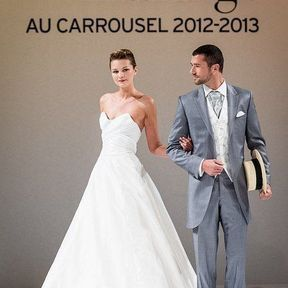 Robe de mariages 2013 en soie © Le Salon du mariage