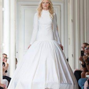 Robe de mariages en soie 2013 © Delphine Manivet
