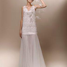 Robe de mariée 2013 en dentelle © Max Chaoul