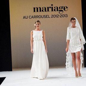 Robe de mariée 2013 en soie © Le salon du mariage
