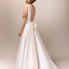 Robe de mariée 2013 en soie © Max Chaoul