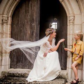 Robe de mariée 2015 @ Constance Fournier