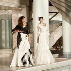 Robe de mariée automne-hiver 2012 © Illy Tulle