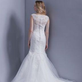Robe de mariée blanche 2015 @ Hervé Mariage