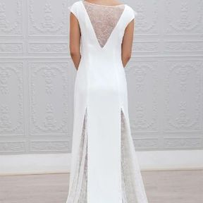 Robe de mariée blanche Automne - Hiver 2015 @ Marie Laporte