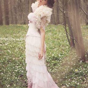 Robe de mariée colorée Andralys printemps été 2014