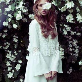 Robe de mariée courte Elise Hameau printemps été 2014