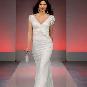 Robe de mariée dentelle 2013 © Cymbeline