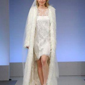 Robe de mariée en dentelle 2013 © Cymbeline