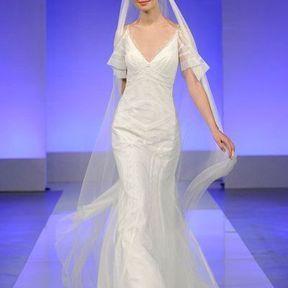 Robe de mariée en soie 2013 © Cymbeline