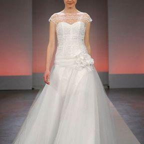 Robe de mariée en tulle 2013 © Cymbeline