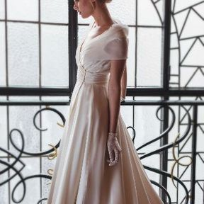 Robe de mariée haute couture 2015 @ Fanny Liautard