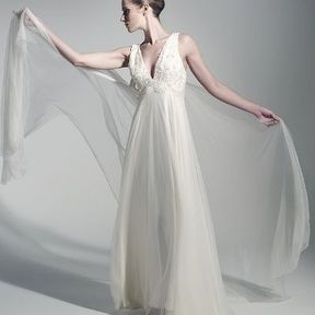 Robe de mariée luxe Fanny Liautard printemps été 2014