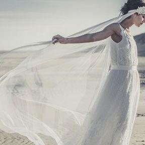 Robe de mariée luxe Laure de Sagazan printemps été 2014