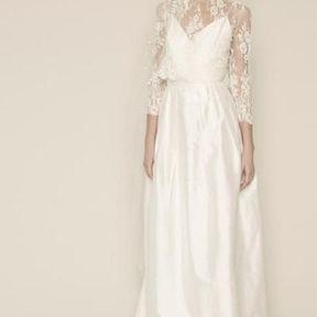 Robe de mariée Rue de Seine printemps été 2014
