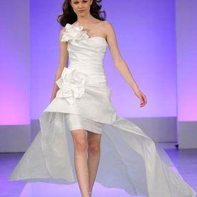 Robe de mariée soie 2013 © Cymbeline
