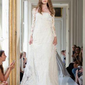Robe de mariées dentelle 2013 © Delphine Manivet