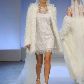 Robe de mariées en dentelle 2013 © Cymbeline