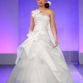Robe de mariées en  tulle 2013 © Cymbeline