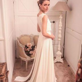 Robe mariage 2015 @ Constance Fournier
