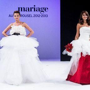 Robe mariages 2013 en tulle © Le Salon du mariage