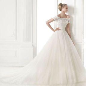 Robe mariages dentelle 2015 @ Pronovias