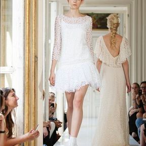Robe mariages en dentelle 2013 © Delphine Manivet