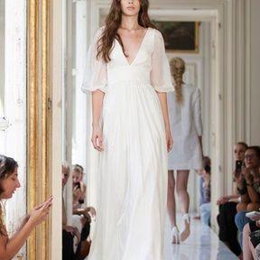 Robe mariages mousseline 2013 © Delphine Manivet