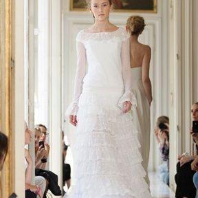 Robe mariée dentelle 2013 © Delphine Manivet