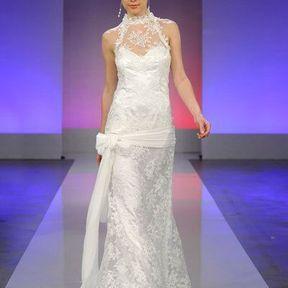 Robe mariée en dentelle  2013 © Cymbeline