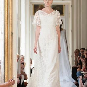 Robe mariée  en dentelle 2013 © Delphine Manivet