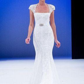 Robe mariées 2013 en dentelle  © Le salon du mariage