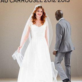 Robes de mariage 2013 en tulle © Le Salon du mariage