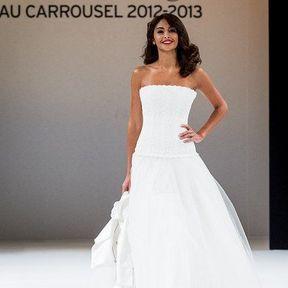 Robes de mariages 2013 en tulle © Le Salon du mariage