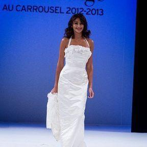 Robes de mariée 2013 en soie © Le salon du mariage