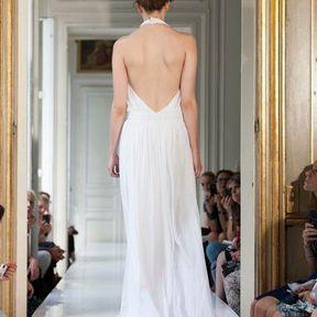 Robes de mariée en mousseline 2013 © Delphine Manivet