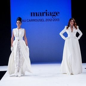 Robes de mariées 2013 en dentelle © Le salon du mariage