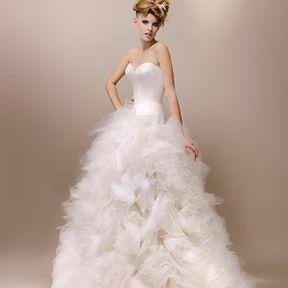 Robes de mariées 2013 en tulle © Max Chaoul