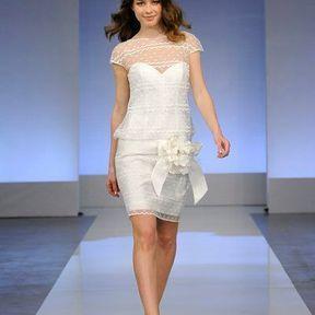 Robes de mariées en dentelle 2013 © Cymbeline