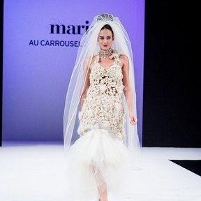 Robes mariage 2013 en tulle © Le Salon du mariage
