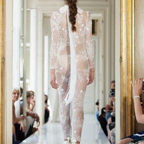 Robes mariages en dentelle 2013 © Delphine Manivet