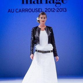 Robes mariée 2013 en soie © Le Salon du mariage
