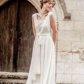 Robes mariée 2015 @ Constance Fournier