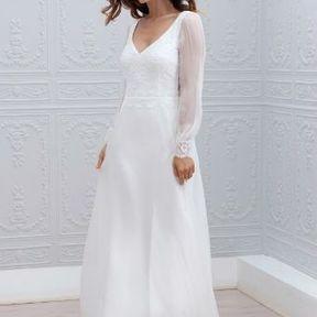 Robes mariée 2015 @ Marie Laporte