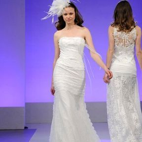 Robes mariée en dentelle  2013 © Cymbeline
