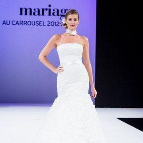 Robes mariées 2013 en dentelle © Le Salon du mariage