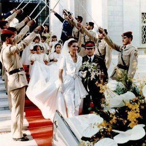 AMMAN: Le mariage du Prince Abdallah et de Rania Yassine